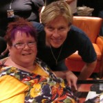 Trish with Jack Wagner