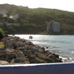 Another view of the hillside in Ocho Rios