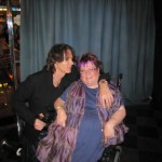 Rick Springfield and Trish at the Meet and Greet