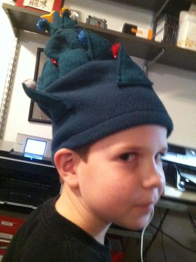 Steven, age almost 10